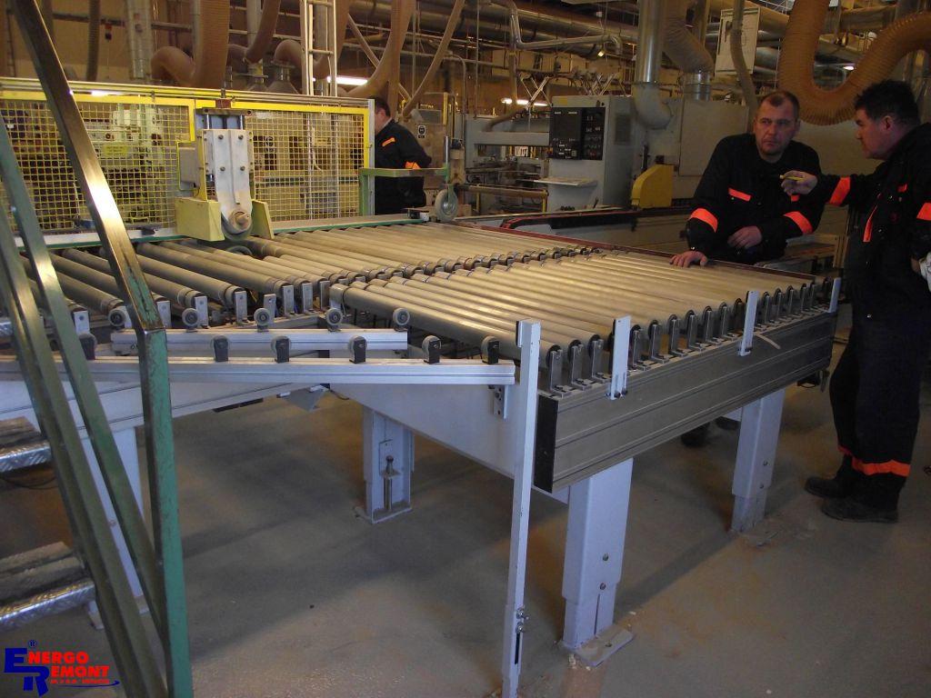 Macchine Produzione Mobili.Trasferimento Macchinari Per Linea Di Produzione Mobili