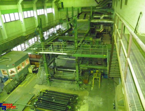 Disassembly of Paper Coater's Equipment