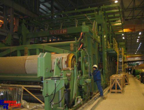 Montaż urządzeń maszyny papierniczej PM7