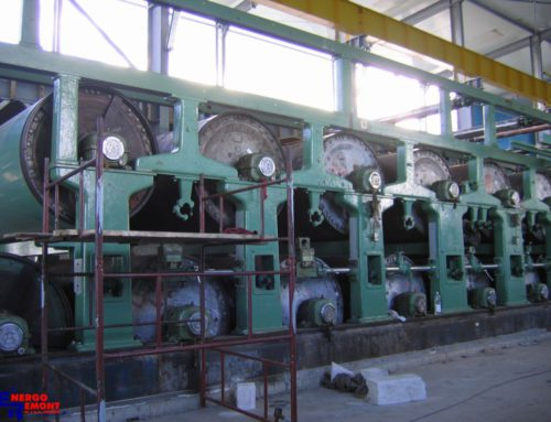 Installation of Paper Machine