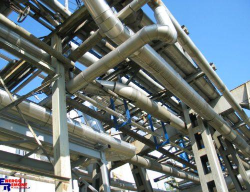Wykonanie urrociągów pary oraz kondensatu maszyny papierniczej PM7